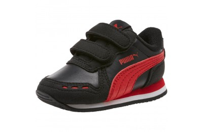 Puma Cabana Racer SL Sneakers INF Black-High Risk Red Outlet Sale