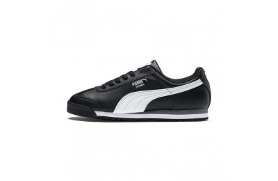 Puma Roma Basic Sneakers black-white-puma silver Outlet Sale