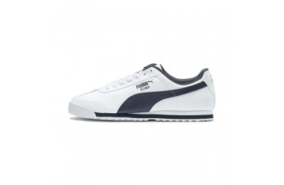 Puma Roma Basic Sneakers white-new navy Outlet Sale