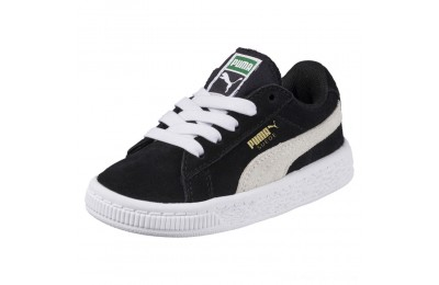 Puma Puma Suede Infant Sneakers black-white Outlet Sale