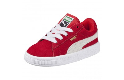 Puma Puma Suede Infant Sneakers high risk red-white Outlet Sale