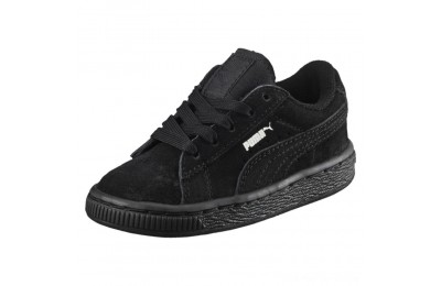 Black Friday 2020 Puma Puma Suede Infant Sneakers black-puma silver Outlet Sale