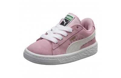 Black Friday 2020 Puma Puma Suede Infant Sneakers Pink Lady- White Outlet Sale