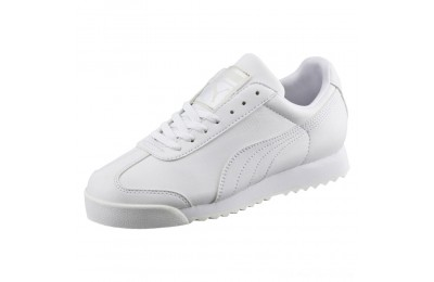 Puma Roma Basic Sneakers JRwhite-light gray Outlet Sale