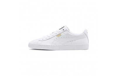 Puma Heritage Basket Classic Sneakers white-white Outlet Sale