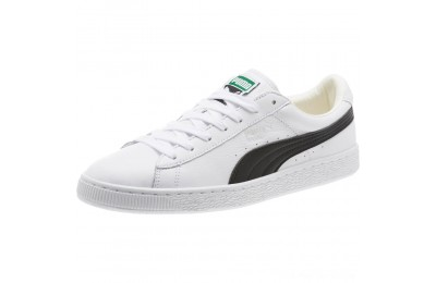 Black Friday 2020 Puma Heritage Basket Classic Sneakers white-black Outlet Sale