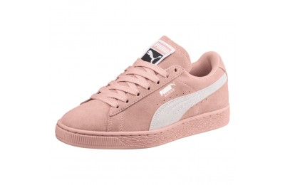 Puma Suede Classic Women's Sneakers Peach Beige- White Outlet Sale