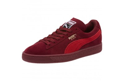Puma Suede Classic Women's Sneakers Pomegranate-Ribbon Red Outlet Sale