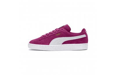 Puma Suede Classic Women's Sneakers Magenta Haze- White Outlet Sale