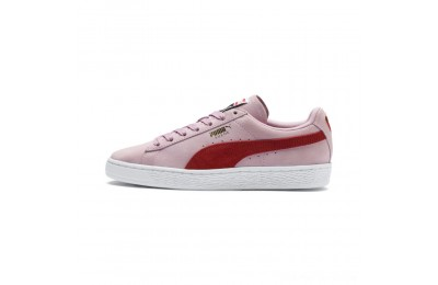 Black Friday 2020 Puma Suede Classic Women's Sneakers Pale Pink-Hibiscus Outlet Sale