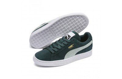 Puma Suede Classic Women's Sneakers Ponderosa Pine-Fair Aqua Outlet Sale
