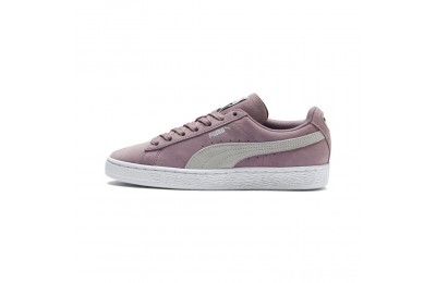 Black Friday 2020 Puma Suede Classic Women's Sneakers Elderberry- White Outlet Sale