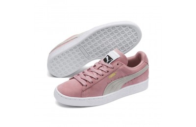 Puma Suede Classic Women's Sneakers Bridal Rose-Gray Violet Outlet Sale