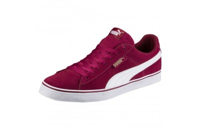 Black Friday 2020 Puma Puma 1948 Vulc Men's Sneakers Tibetan Red- White Outlet Sale