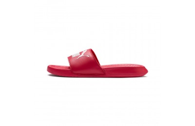 Puma Popcat Slide SandalsHibiscus - White Outlet Sale