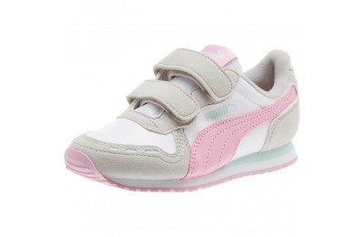 Puma Cabana Racer SL AC Sneakers PS White-Gray Violet Outlet Sale