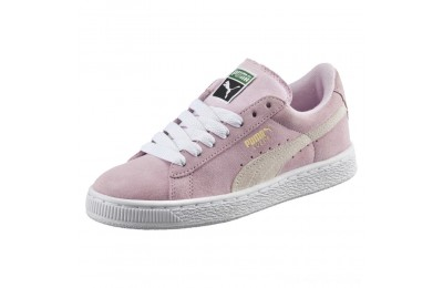 Puma Suede PS Kids' Sneakers Pink Lady- White-P.T. Gold Outlet Sale