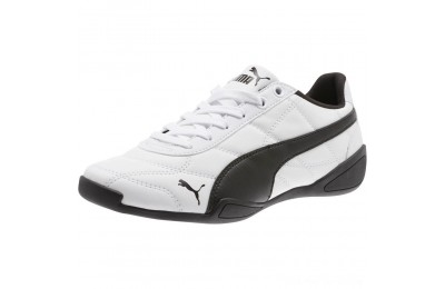 Puma Tune Cat 3 Shoes JR White- Black Outlet Sale