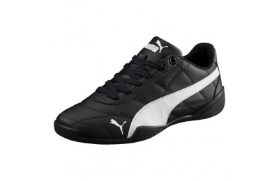 Puma Tune Cat 3 Shoes JR Black- White Outlet Sale