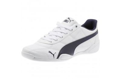 Puma Tune Cat 3 Shoes JR White-Peacoat Outlet Sale