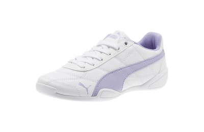 Puma Tune Cat 3 Shoes JR White-Sweet Lavender Outlet Sale