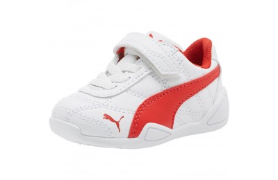 Puma Tune Cat 3 AC Shoes INF White-Flame Scarlet Outlet Sale