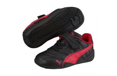 Puma Tune Cat 3 AC Shoes INF Black-Ribbon Red Outlet Sale