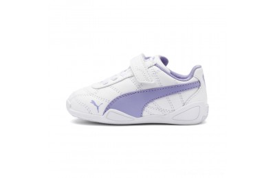 Puma Tune Cat 3 AC Shoes INF White-Sweet Lavender Outlet Sale