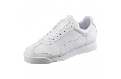 Black Friday 2020 Puma Roma Basic Sneakers PS White-Gray Violet Outlet Sale
