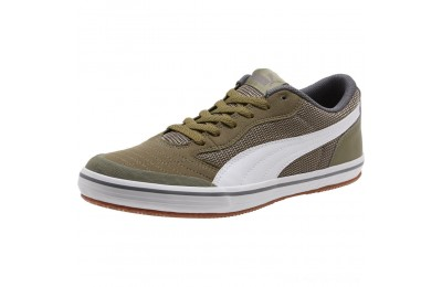 Black Friday 2020 Puma Astro Sala Men's Sneakers Burnt Olive- White Outlet Sale