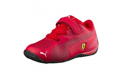 Puma Scuderia Ferrari Drift Cat 5 Ultra Shoes INFRosso Corsa- White Outlet Sale
