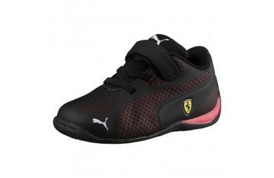 Puma Scuderia Ferrari Drift Cat 5 Ultra Shoes INF Black-Rosso Corsa Outlet Sale