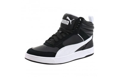 Black Friday 2020 Puma Puma Rebound Street V2 Black- White Outlet Sale