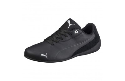 Black Friday 2020 Puma Drift Cat 7 Men's Shoes Black- Black-Silver Outlet Sale