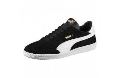 Puma Astro Cup Suede Sneakers Black- White Outlet Sale