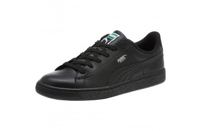 Puma Basket Classic JR Sneakers Black- Black Outlet Sale