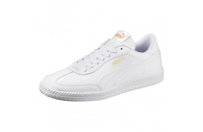 Black Friday 2020 Puma Astro Cup Leather Trainers White- White Outlet Sale