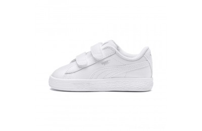 Puma Basket Classic Baby Sneakers White- White Outlet Sale