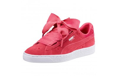 Puma Suede Heart Valentine JR Sneakers Paradise Pink-Paradise Pink Outlet Sale
