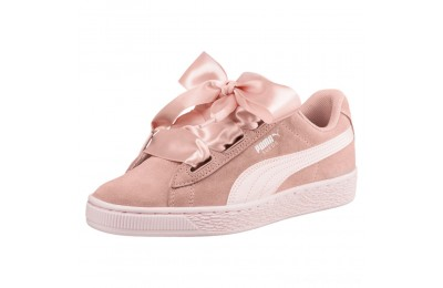 Black Friday 2020 Puma Suede Heart Jewel JR Sneakers Peach Beige-Pearl Outlet Sale
