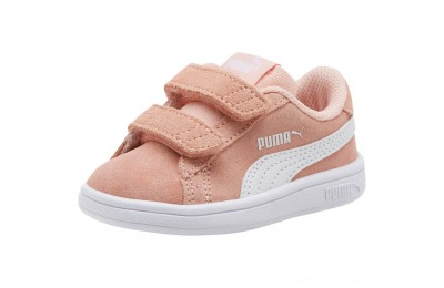 Puma PUMA Smash v2 Suede Sneakers INFPeach Bud- White Outlet Sale