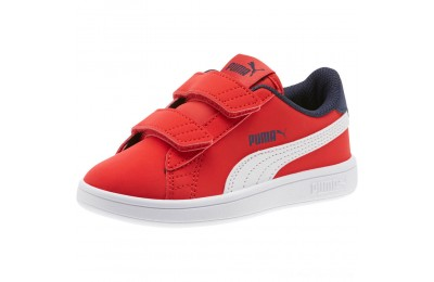 Black Friday 2020 Puma PUMA Smash v2 Buck AC Sneakers PSHigh Risk Red-White-Peacoat Outlet Sale