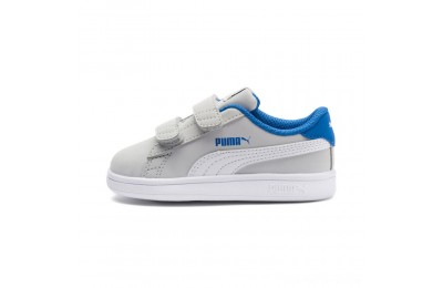Puma PUMA Smash v2 Buck Sneakers INFGray Violet- White Outlet Sale