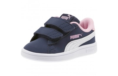 Puma PUMA Smash v2 Buck Sneakers INFPeacoat- White-Pale Pink Outlet Sale