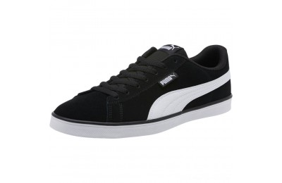 Puma Urban Plus Suede Sneakers Black- White Outlet Sale