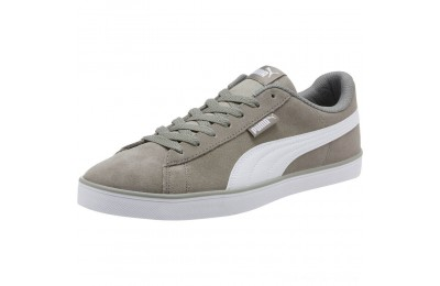 Black Friday 2020 Puma Urban Plus Suede Sneakers Rock Ridge- White Outlet Sale