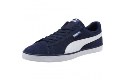 Puma Urban Plus Suede Sneakers Peacoat- White Outlet Sale