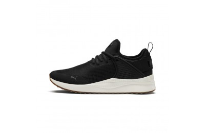 Puma Pacer Next Cage Sneakers P. Black-P. Black-Whis.White Outlet Sale