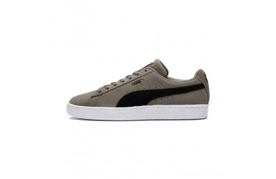 Puma Suede Classic Sneakers Charcoal Gray- Black Outlet Sale