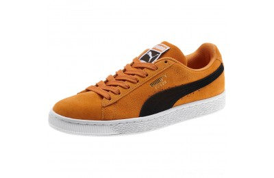 Black Friday 2020 Puma Suede Classic Sneakers Orange Pop- Black Outlet Sale